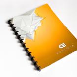Esquoia Notebook žlutý plastový