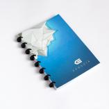 Esquoia A5 Notebook Modrý s plastovou vazbou